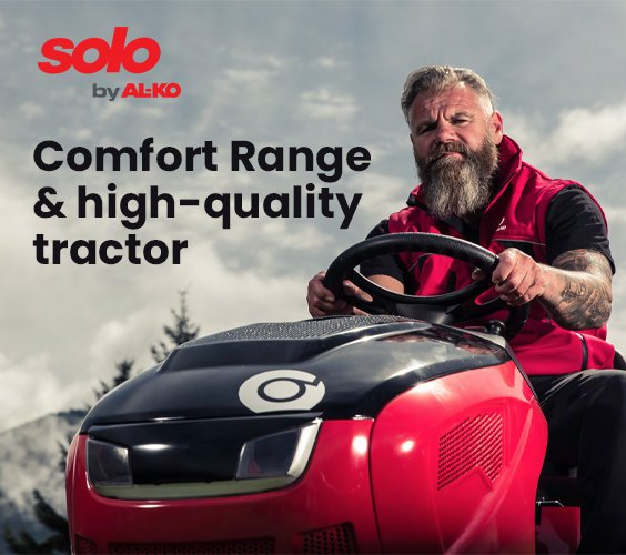 Solo By AL-KO T15-93.7 HD-A Comfort Lawn Tractor