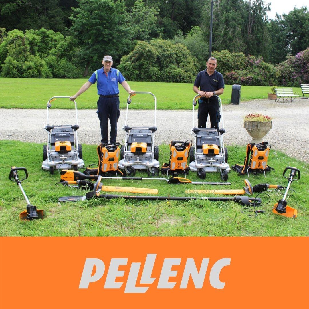 Shelton Abbey Prison choose our commercial Pellenc Range!!